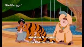 Meet Finnish voices of Disney Princesses - Part 2 [HD 1080p]