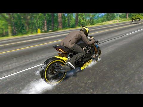 The Crew 2 #61 - Khi Siêu Moto Drag Đi Phượt   Ducati DraXter