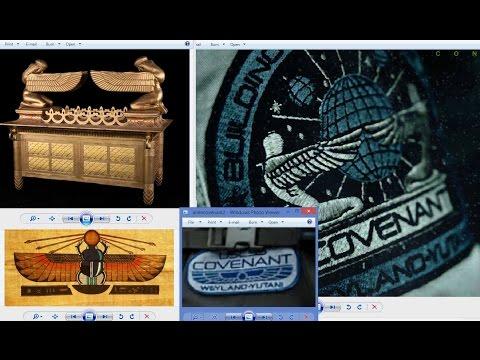 "New Alien ""COVENANT"" Film Tree Stump & Biblical Themes LIVE"