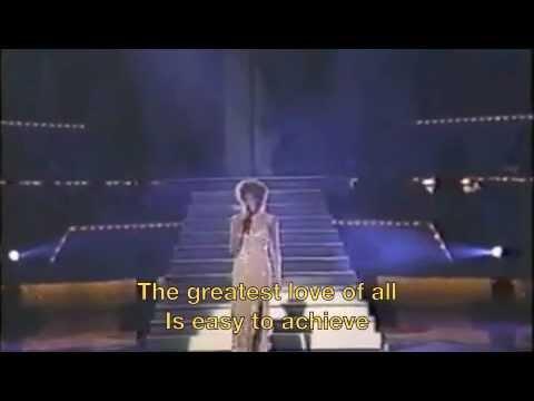 Whitney Houston The Greatest Love Of All Lyrics