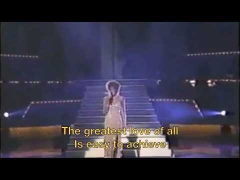 Whitney Houston The Greatest Love of All Lyrics