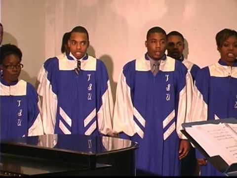 """TSU Choir sings """"Carol Of The Bells"""""""