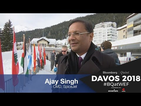 WEF 2018: In Conversation With SpiceJet's Ajay Singh