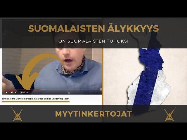 Suomalaisten älykkyys on suomalaisten tuhoksi
