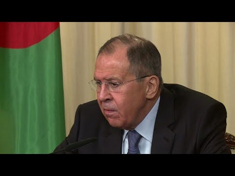 Lavrov says spy poisoning could be 'in interests' of UK govt