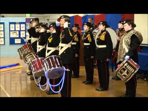 Army Cadet Corps of Drums, Pudsey, Yorks