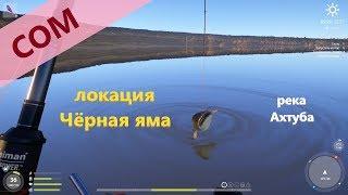 Русская рыбалка 4 река Ахтуба Сом в конце карты