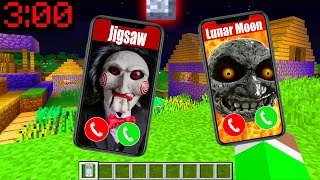 Minecraft PE : WHO CALLED ME AT 3:00AM IN MINECRAFT??!