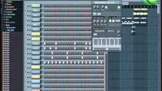 Fl Studio Sample Beat Yapımının Tamamlanması Mix ve Mastering