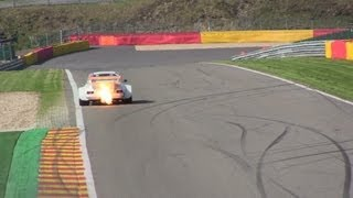 porsche 934 flamethrower at spa francorchamps 1080phd