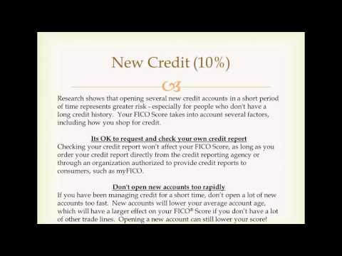 Credit Scores and Mortgage Loans