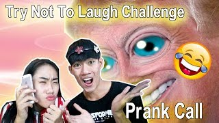 Prank Call SantaKH😂😂&Try not to laugh Challenge / Drawing Life