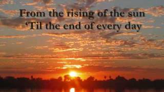 PRAISE ADONAI (LYRICS)