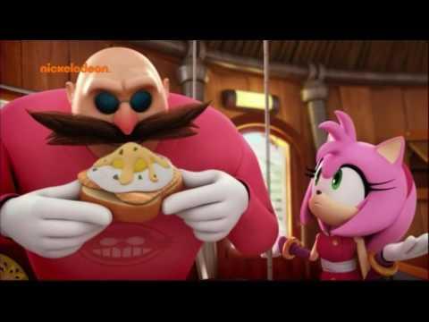 Sonic Boom - Folge 1/2  - Der Sidekick / Mitbewohner auf Zeit (Deutsch/German)