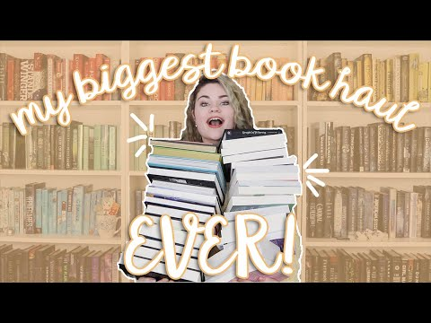 My Biggest Book Haul Ever?!