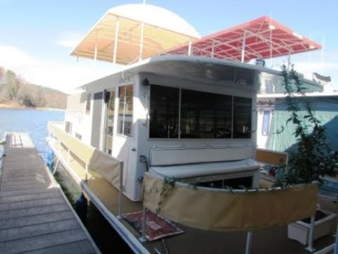 1977 36 Foot Gibson Completely Renovated Houseboat For Sale - Tiny House on the Water!!!