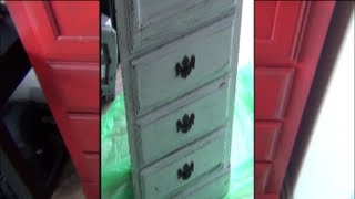 Cabinet Makeover .... Crafty Imitation??  ...  Less Money On Cabinet = More Money For Makeup....
