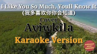 I Like You So Much, You'll Know It (我多喜欢你你会知道) Aviwkila Karaoke | (English Cover)