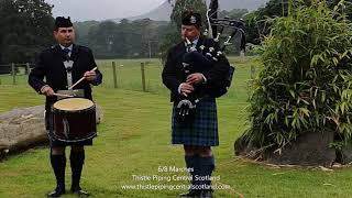 6/8 Marches - Mucking o' Geordie's Byre & Bonnie Dundee