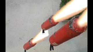 Những trò nghịch ngu nhất Việt Nam #1 - Thả bình cứu hỏa từ độ cao hơn 10m sẽ NTN