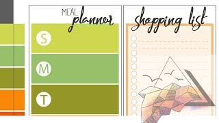 Meal Plan Base Designs (Stream)