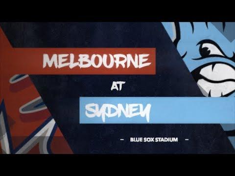 REPLAY: Melbourne Aces @ Sydney Blue Sox, R6/G1