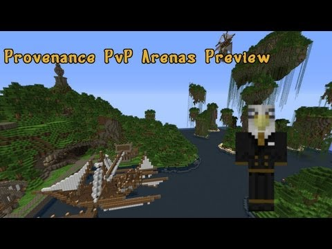 [1.5.2] Provenance PvP Arenas Preview!