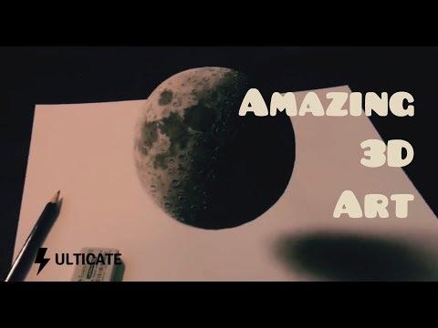 Amazing 3D Art    Amazing Art    3D Art    3-Dimension Art    Ulticate