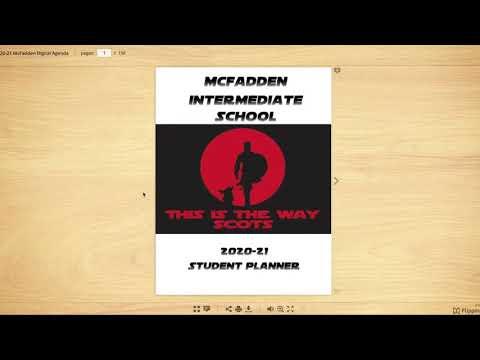 McFadden Intermediate Title 1 2020 English Meeting