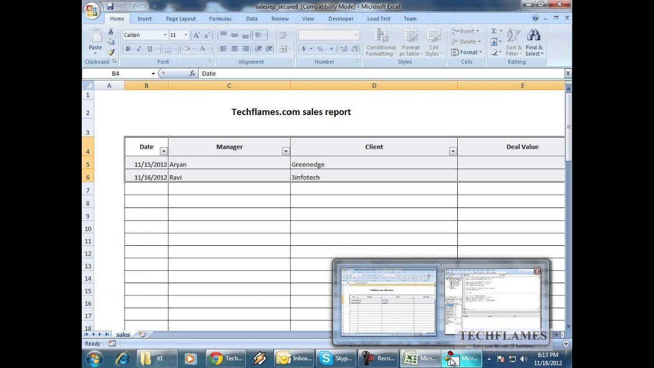 Protect and lock excel sheet dynamically youtube protect and lock excel sheet dynamically robcynllc Image collections