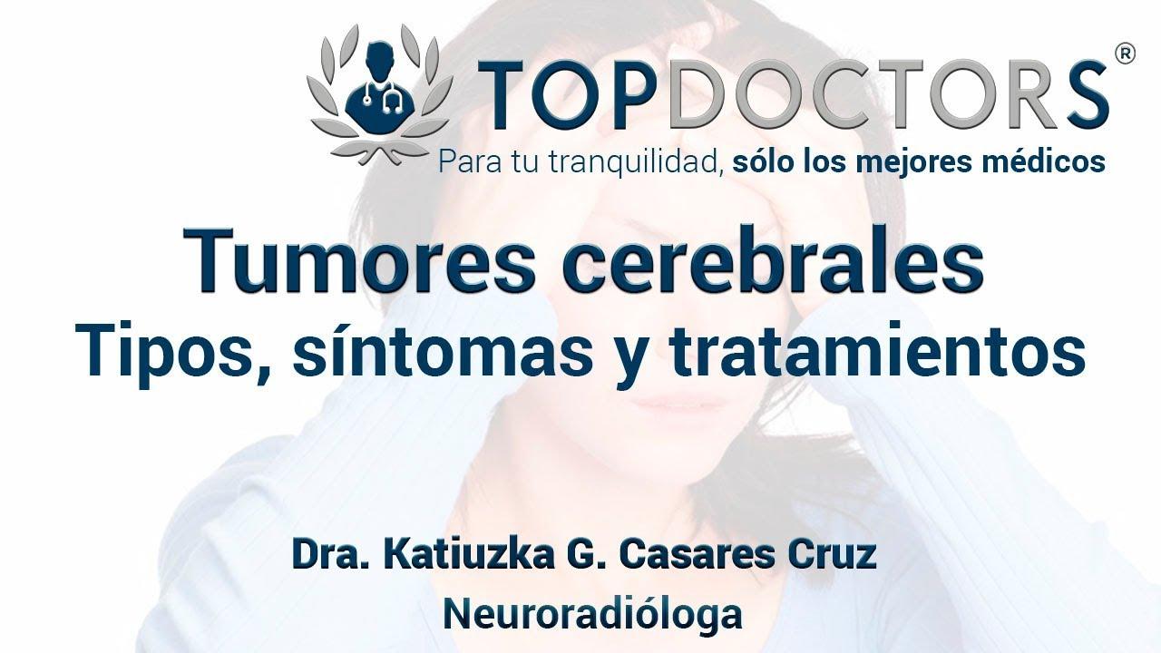 sintomas de una tumor cerebral