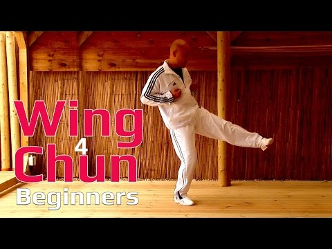 Wing Chun for beginners lesson 6:basic leg exercise/ static triple kick