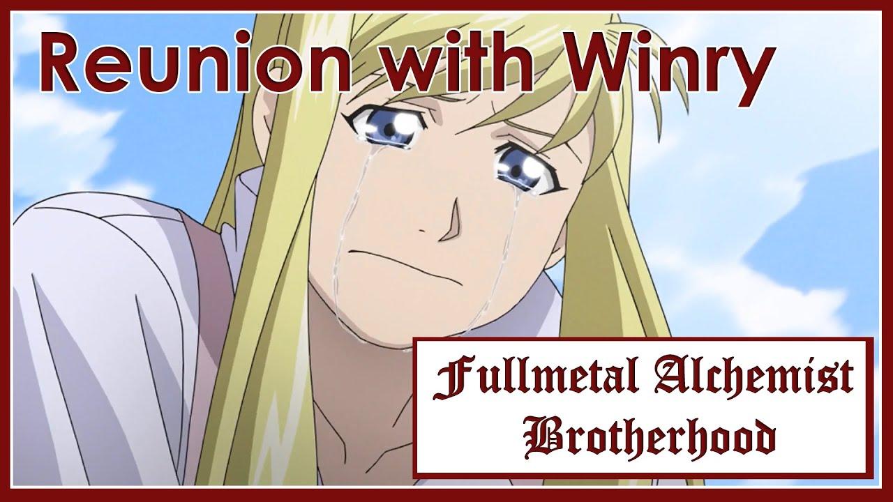 Fullmetal Alchemist Brotherhood - Reunion with Winry ...