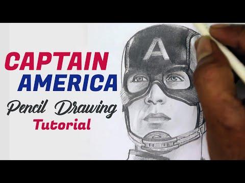 captain-america-pencil-art-demo/pencil-sketch/pencil-drawing/drawing-class