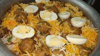 Kofta Biryani recipe by Nuzhat