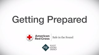 Getting Prepared:  Safe In The Sound, with PSE & the American Red Cross