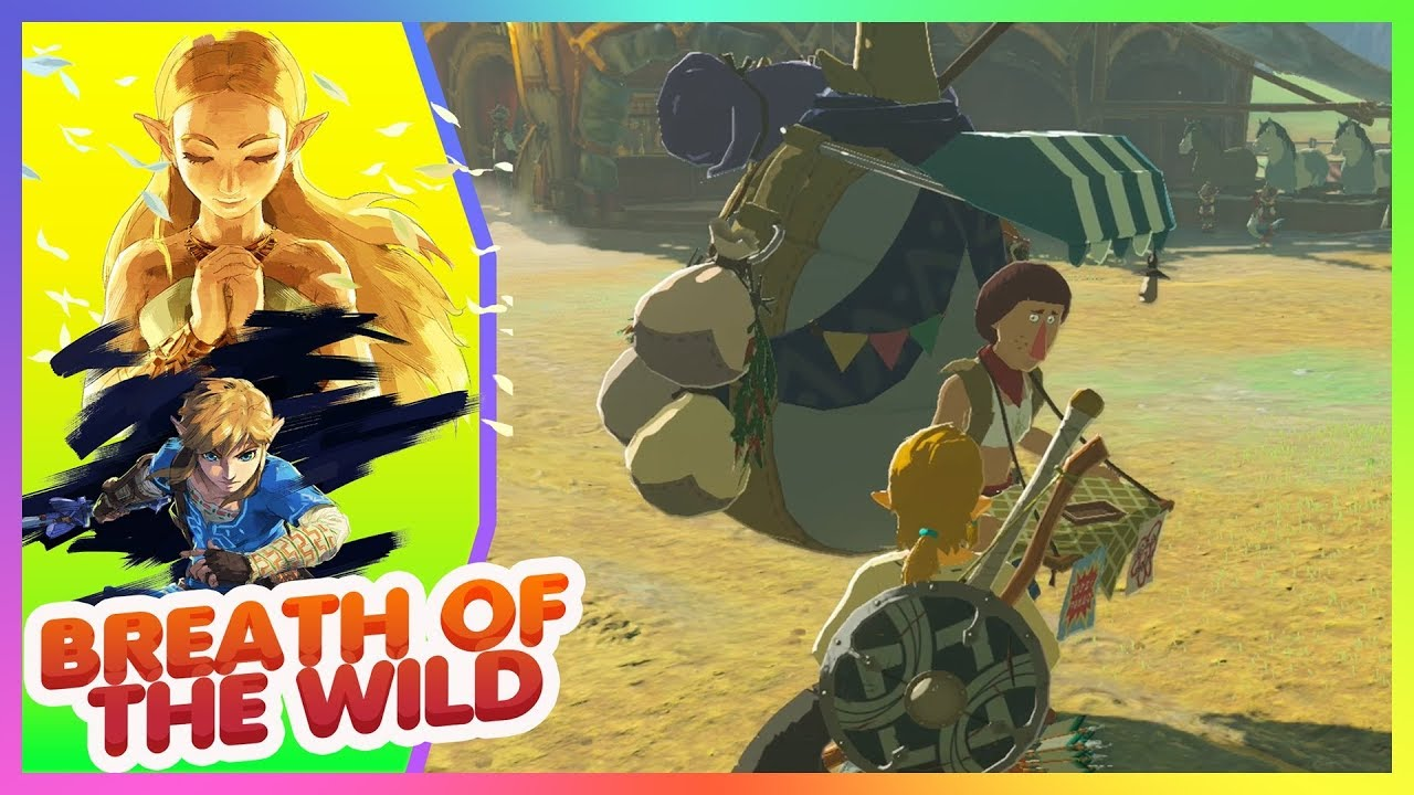 The Legend of Zelda BREATH OF THE WILD #12 en español Nintendo Switch
