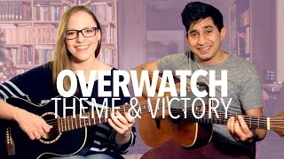 Overwatch - Main Theme & Victory Theme (Acoustic Guitar Cover)