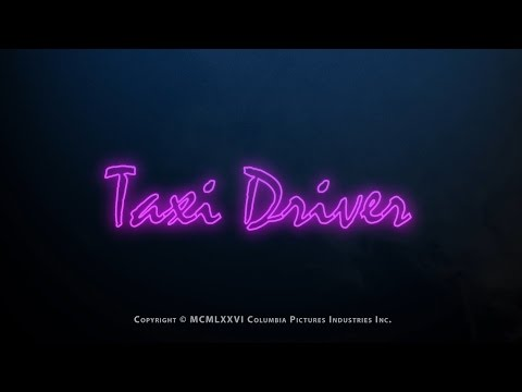 Taxi Driver Trailer (Drive 2011 Style)
