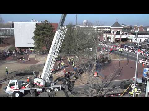 New Oaks At Toomer's Corner AUsome Time-lapse!