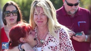 From youtube.com: A mass shooting in a Florida high school has killed 17 people. {MID-249241}