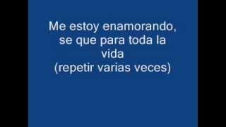 Pedro Suárez Vértiz Me Estoy Enamorando Con Letra)!!