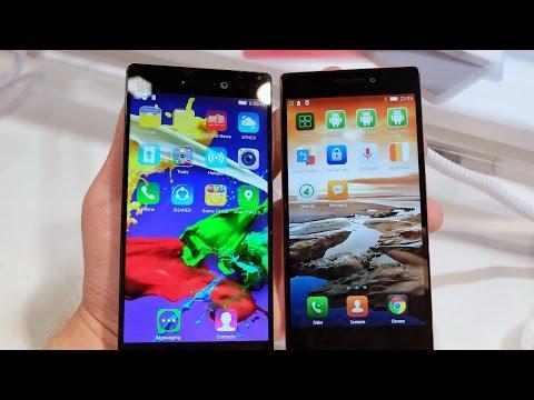 Lenovo Vibe X2 и Vibe X2 Pro: видео-сравнение слоеных смартфонов (comparison)