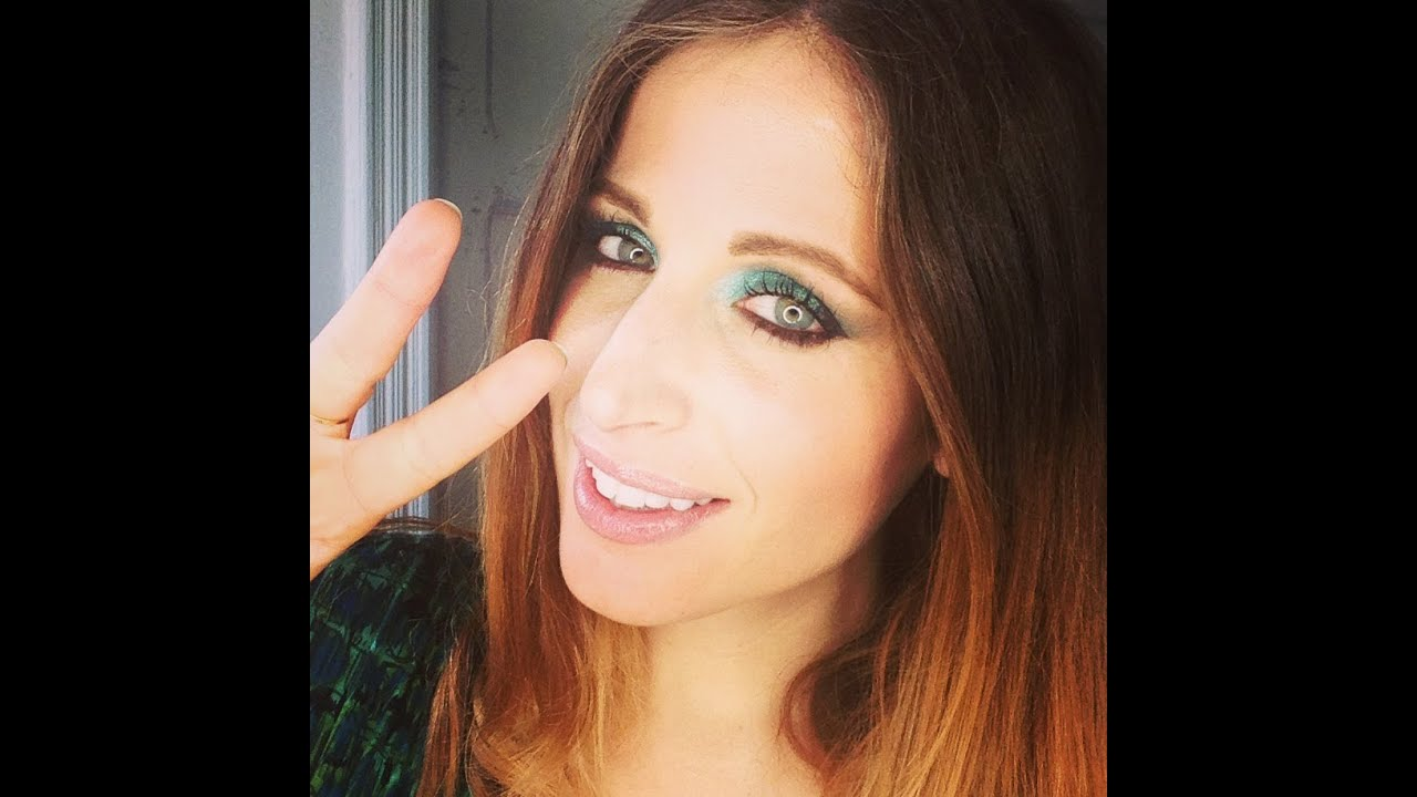 Exceptionnel Makeup Tutorial Trucco ECONOMICO VERDE - YouTube IT59