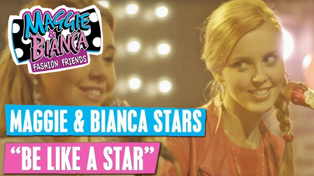 Maggie Bianca Fashion Friends Be Like A Star Musicmonday Disney Channel Songs