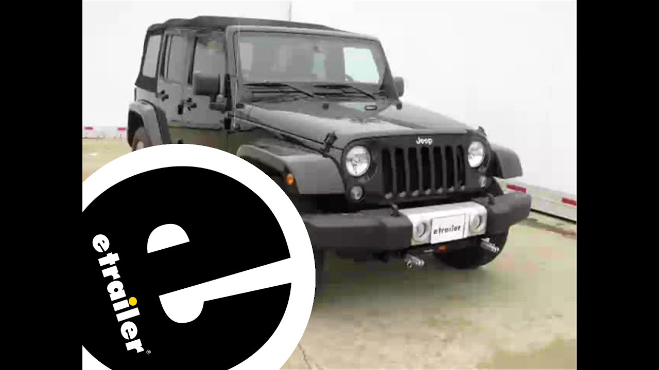 blue ox base plate kit installation 2014 jeep wrangler unlimited [ 1280 x 720 Pixel ]