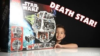 Repeat youtube video LEGO DEATH STAR Set 10188 Unboxing by EvanTubeHD - 1080p High Definition!