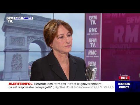 Ségolène Royal Face à Jean-Jacques Bourdin Sur RMC Et BFMTV
