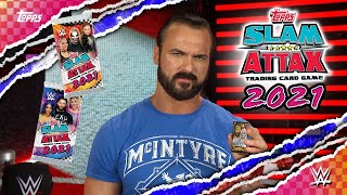 Slam Attax 2021 The Official WWE Trading Card Game is OUT NOW Topps