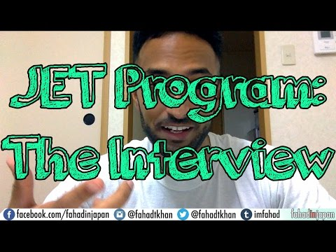 How to Get into the JET Program: The Interview